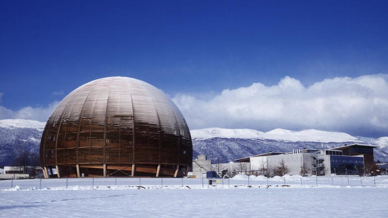 CERN in the winter