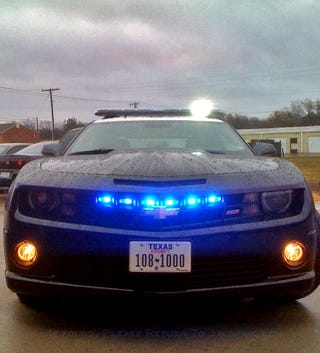 Illustration for article titled The Camaro SS Police Car Will Make You Beg To Be Arrested