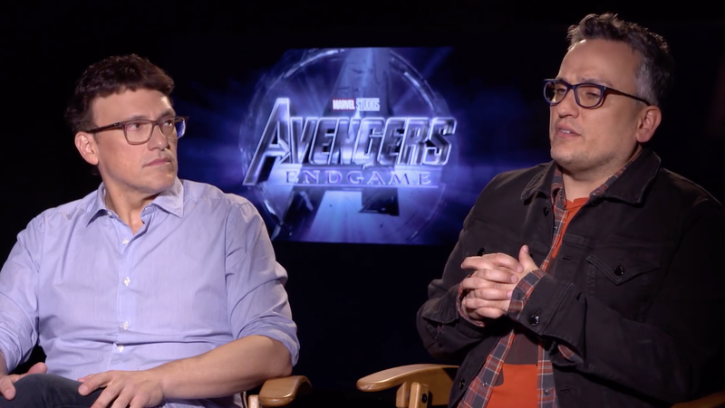 Anthony and Joe Russo discussing Avengers: Endgame.