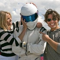 Illustration for article titled Tom Cruise And Cameron Diaz Visit Top Gear, Molest The Stig