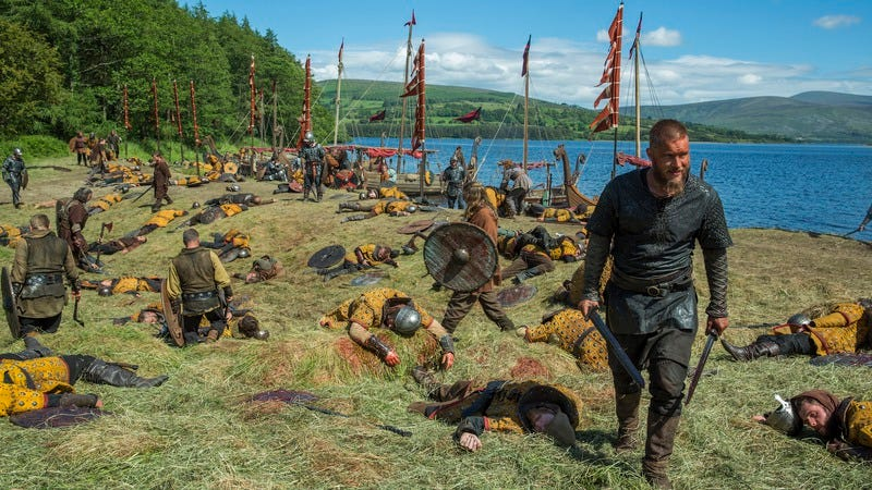 Illustration for article titled Vikings renewed for a fourth season of sex, blood, and salted fish