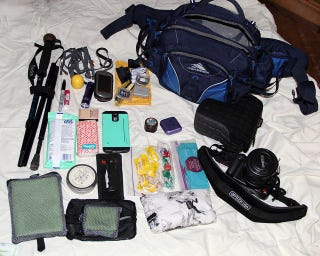 Illustration for article titled The Geek's Hiking Bag