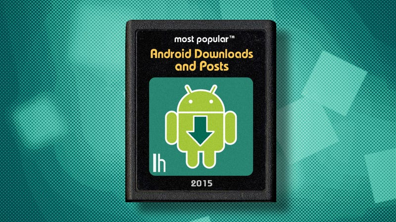 Illustration for article titled Most Popular Android Downloads and Posts of 2015