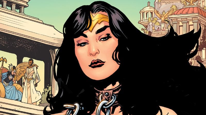 Illustration for article titled Wonder Woman: Earth One returns the heroine to her radical feminist roots