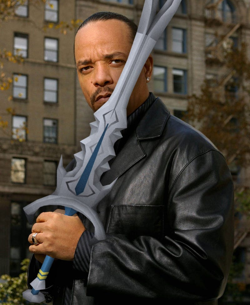 """Illustration for article titled Ice-T records D&D audiobook: """"This s%!t is impossible to read."""""""