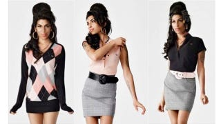 """Illustration for article titled Amy Winehouse's Fashion Line Now """"On Hold"""""""