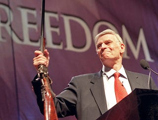 Illustration for article titled Charlton Heston's Gun Taken From His Cold, Dead Hands