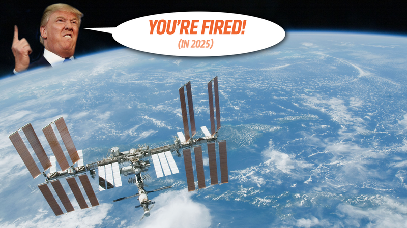 Illustration for article titled Trump's Decision To Reportedly Stop Funding The ISS By 2025 Is A Horrible Idea