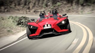 Illustration for article titled Polaris Stops Slingshot Sales To Fix Steering And Roll Hoops