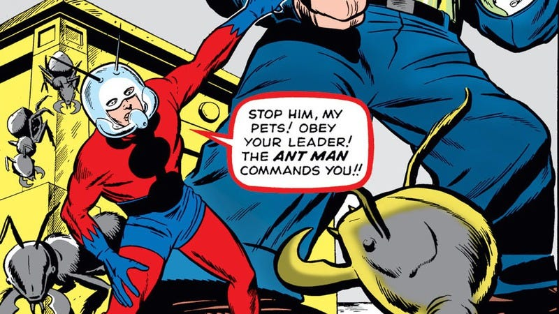Illustration for article titled Ant-Man is a little hero with big baggage