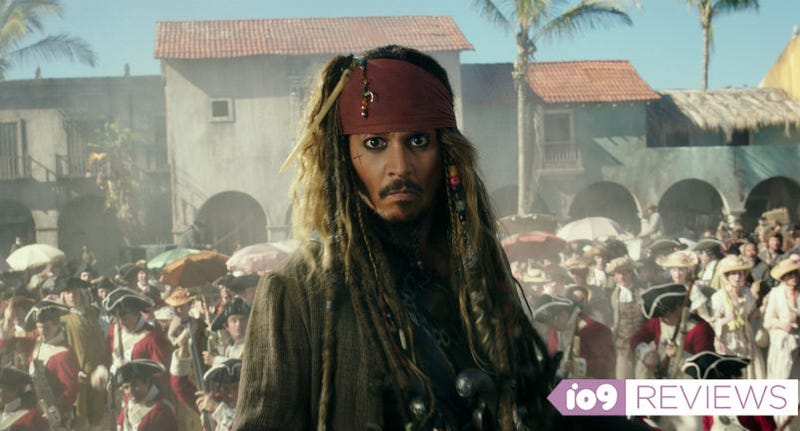 Johnny Depp is back as Jack Sparrow in Pirates of the Caribbean: Dead Men Tell No Tales. All Images: Disney