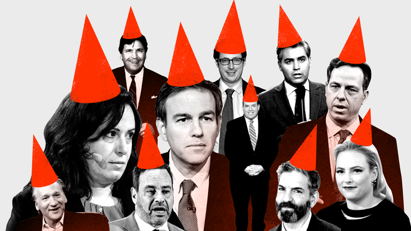 Illustration for article titled The 69 Idiots of 2018: Media