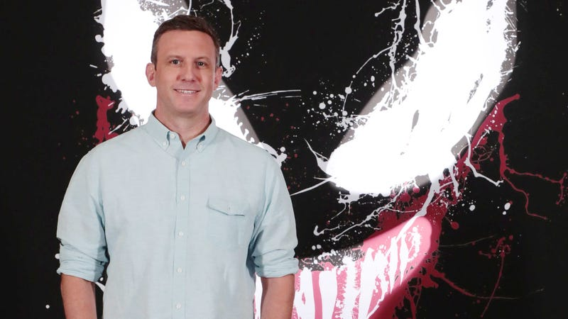 Ruben Fleischer at a recent photo call for Venom.