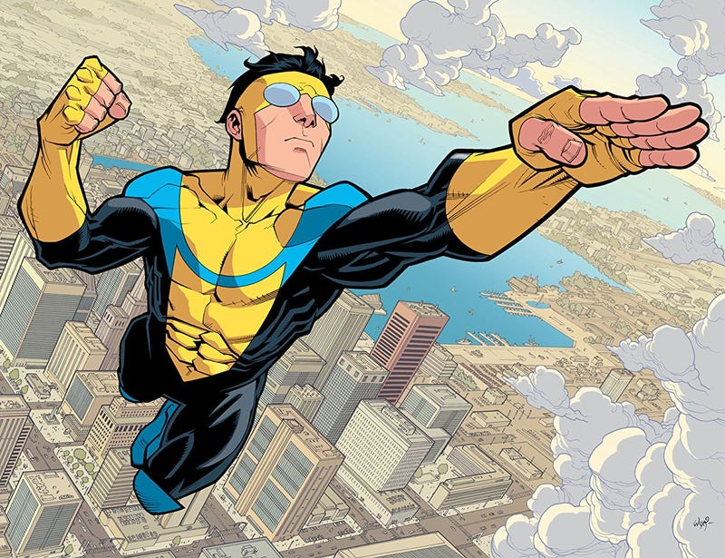 Illustration for article titled Seth Rogen and Evan Goldberg Are Turning Robert Kirkman's Comic Invincible Into a Movie