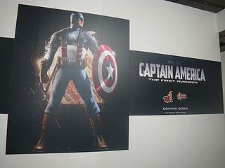 Illustration for article titled Captain America Gallery