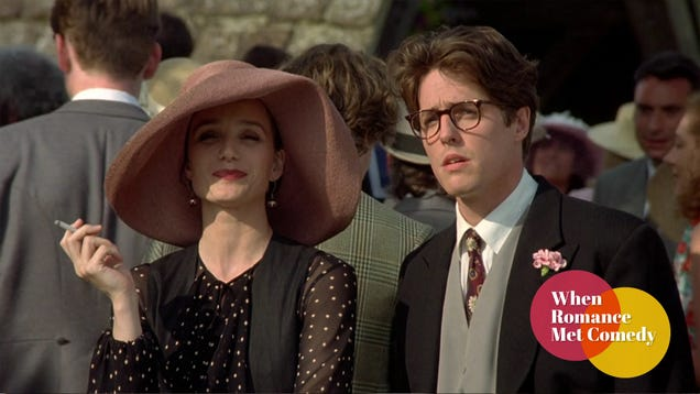 Romance is the weakest aspect of one of the most celebrated rom-coms of the '90s