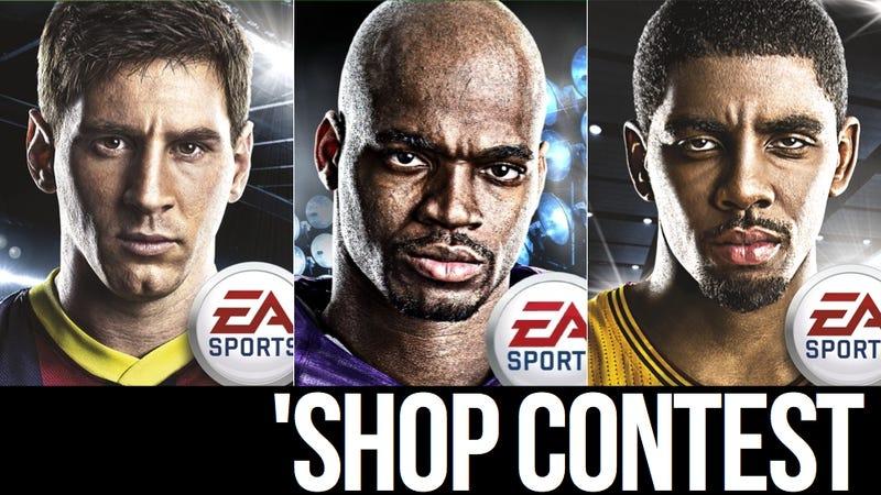 Illustration for article titled Kotaku 'Shop Contest: The Sportsbros