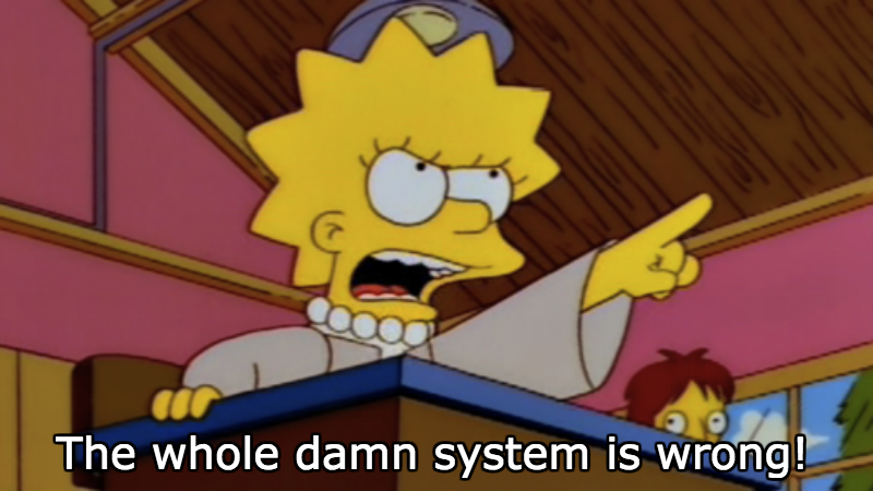 Ted Cruz Compares Democrats to Lisa Simpson, Doesn't Realize It's a Compliment