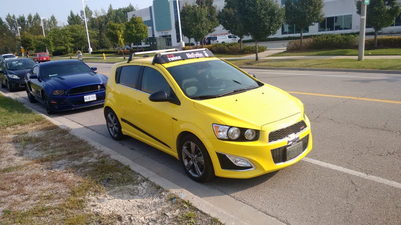 Illustration for article titled Seeing this Lemon Peel yellow Sonic RS made me miss my Sonic.