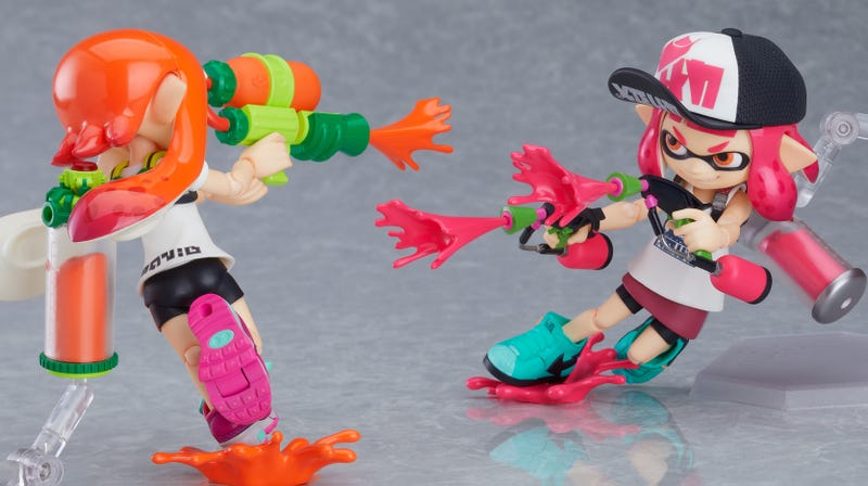 Illustration for article titled New Splatoon Figures Are Like Amiibo, Only Much Better