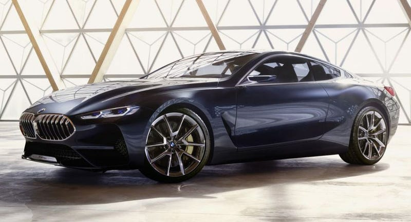 New BMW 8 Series concept previews 2018 production vehicle
