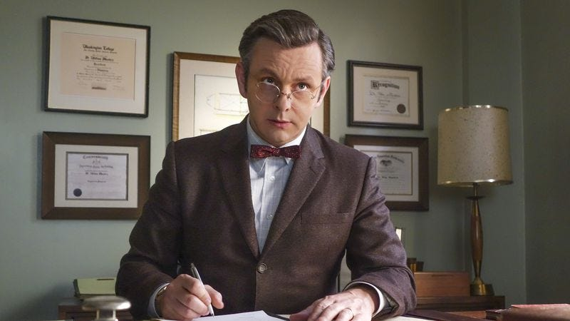Michael Sheen as Bill Masters on Masters Of Sex
