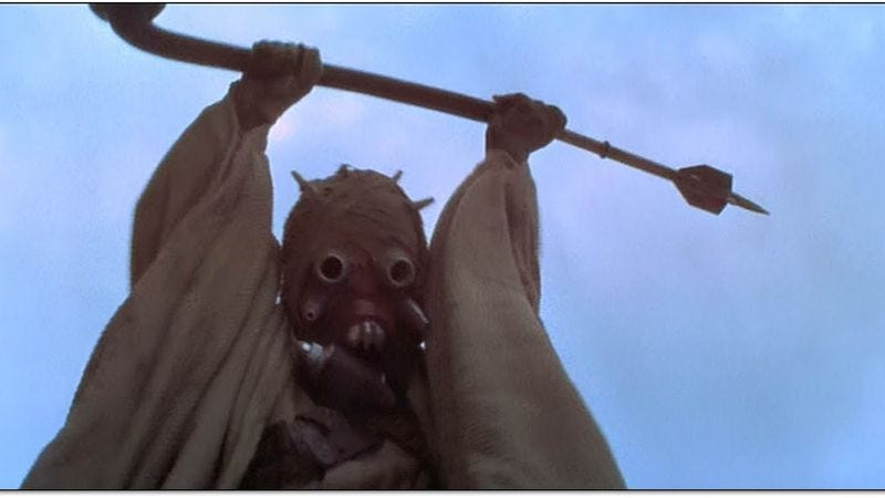 Illustration for article titled First photo from Star Wars: Episode VII filming confirms all your sand-related fears