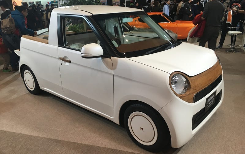 honda n one kei mini truck concept is adorable comes with toy version