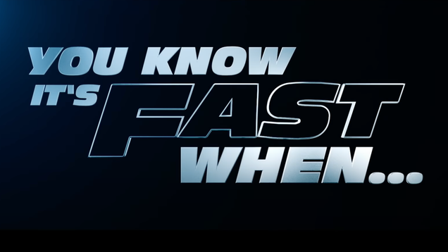 This Fast & Furious Promo Is Either Fantastic or Terrible, I Can t Decide