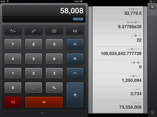 Illustration for article titled Calcbot For iPad and iPhone Makes Calculating Prettier