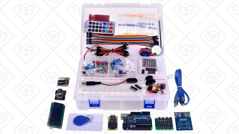 Arduino Starter Kit, $33 with code ANCBWVFV