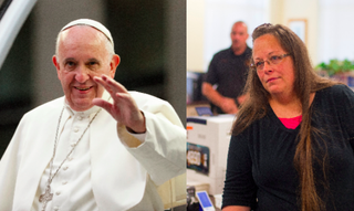 Pope Francis; Kim DavisAristide Economopoulos-Pool/Getty Images; Ty Wright/Getty Images