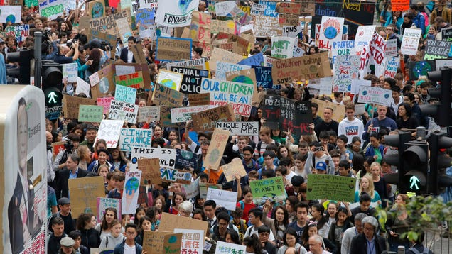 The Climate Strike Movement Has Officially Gone Global