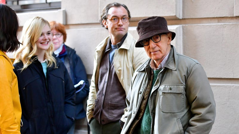 you have 2 guesses as to what the new woody allen movie is