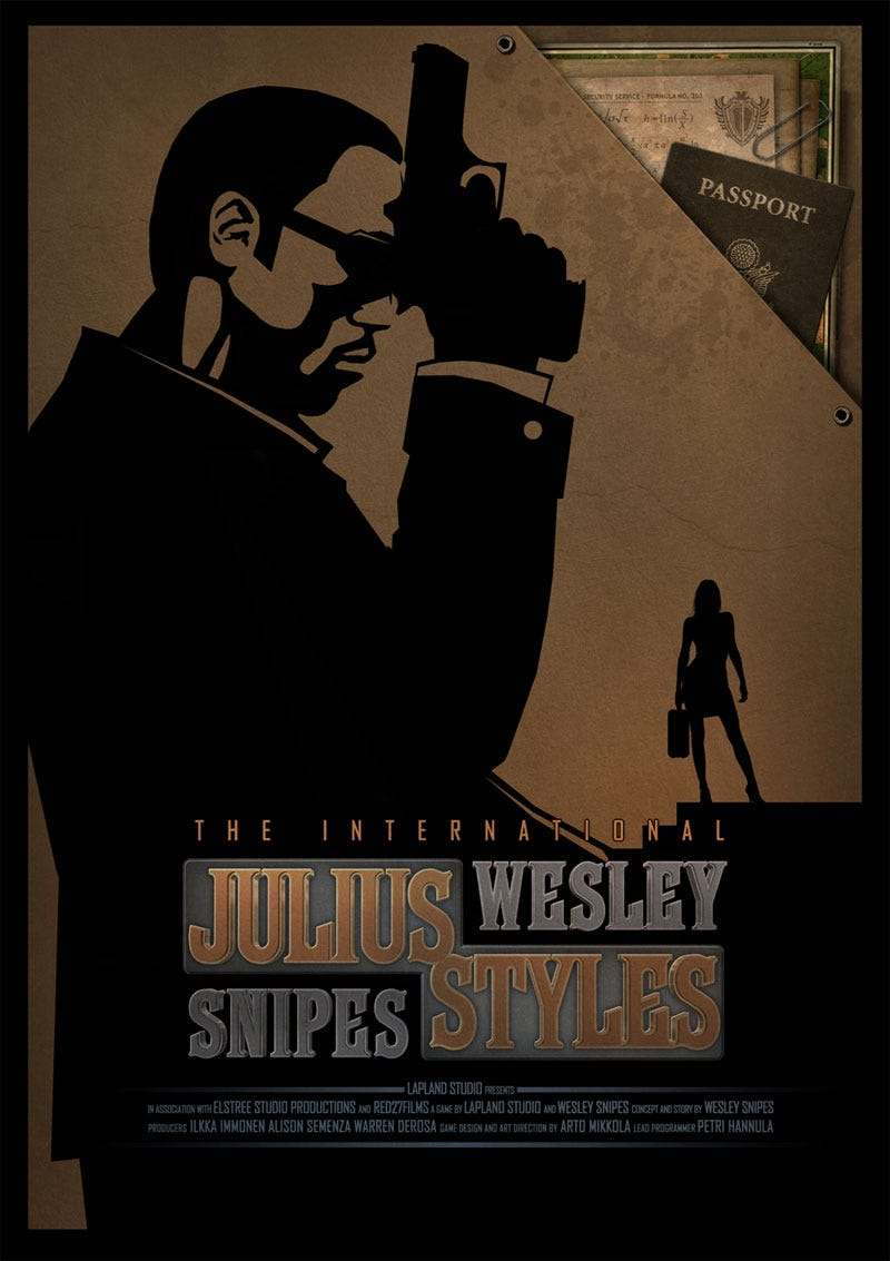 Illustration for article titled Wesley Snipes Lives Vicariously Through A Video Game