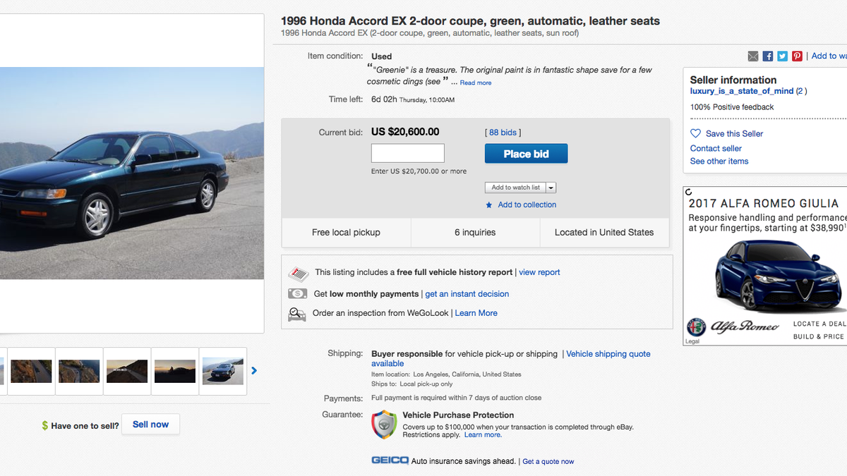 4e0ce0fbeb This Homemade Ad For A Crappy Used 1996 Honda Accord Is Astoundingly Well  Done