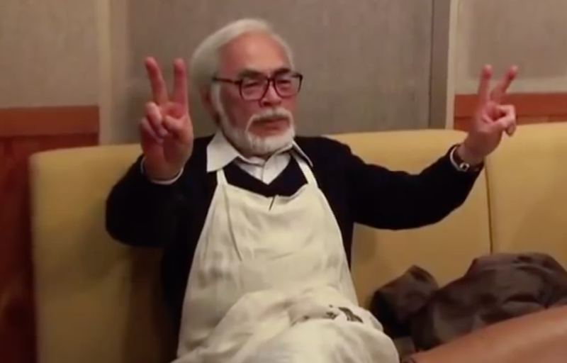 Illustration for article titled Hayao Miyazaki Seems To Hate Lord of the Rings, Indiana Jones And Hollywood Movies