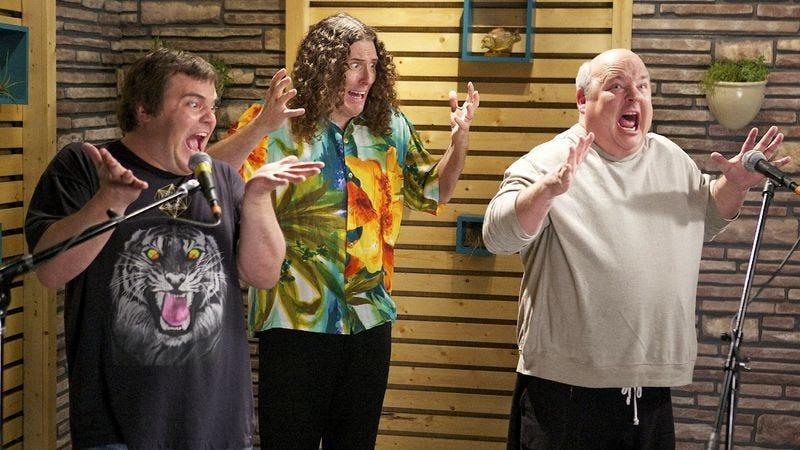 """Illustration for article titled Comedy Bang! Bang!: """"'Weird Al' Yankovic Wears A Hawaiian Shirt"""""""