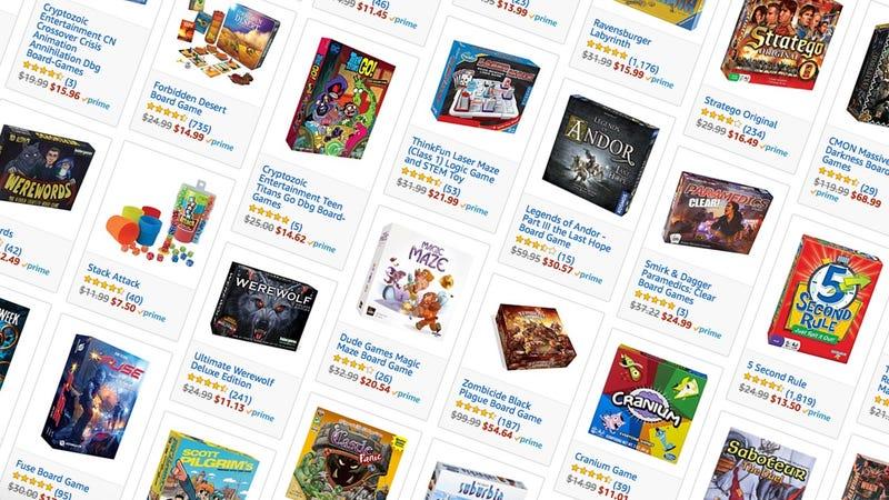 Board Game Gold Box | Amazon