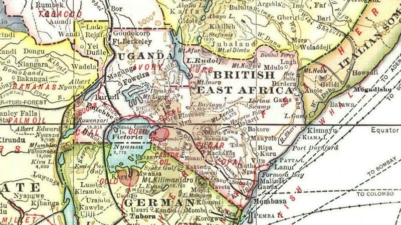 Illustration for article titled Így nézett ki Afrika 1909-ben