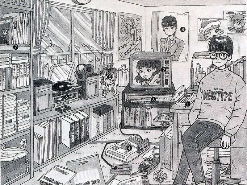Illustration for article titled The Evolution of The Otaku Room