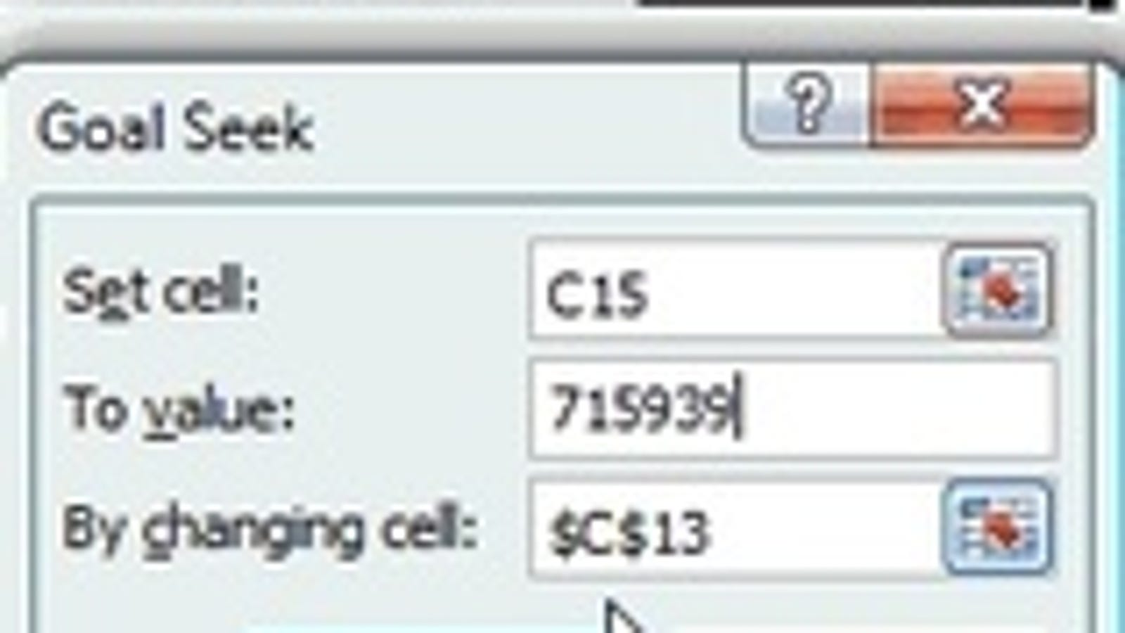 plan your retirement with excel s goal seek function