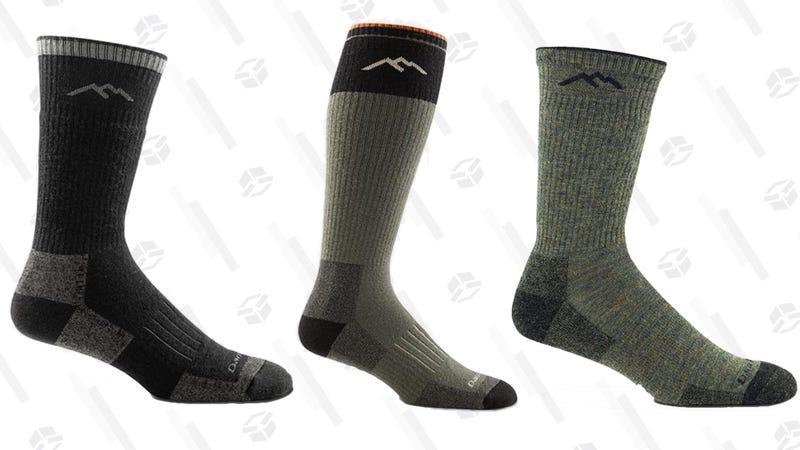 Two-Pack Darn Tough Merino Wool Hunter Socks | $34 | MassDrop