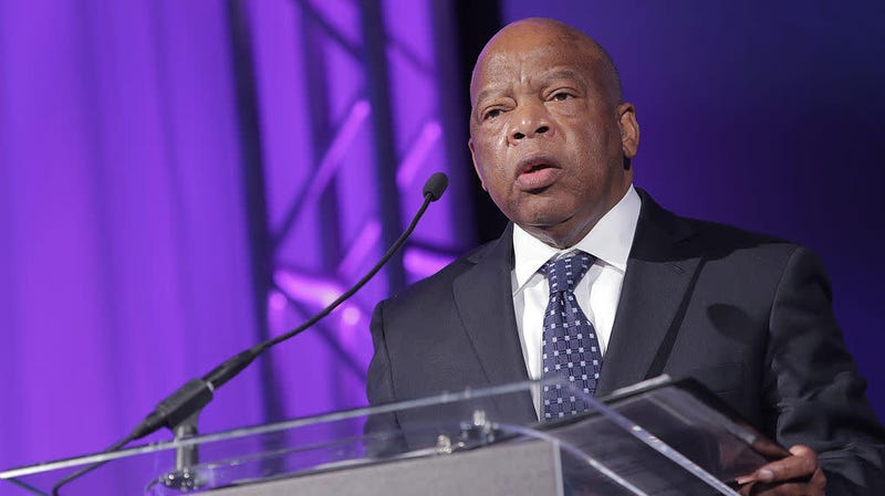 Illustration for article titled Georgia Rep. John Lewis Says He Has Trump's Impeachment on His Mind