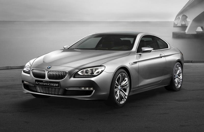 Illustration for article titled BMW 6 Series Coupé Concept Is Not A Concept