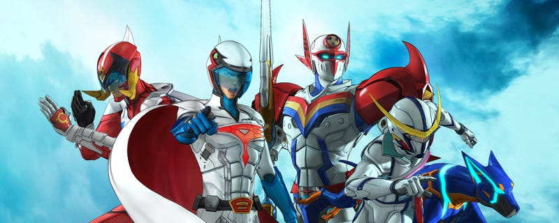 Illustration for article titled Enjoy the newest trailer of Infini-T Force Movie
