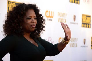 Oprah Winfrey in 2014FREDERIC J. BROWN/AFP/Getty Images