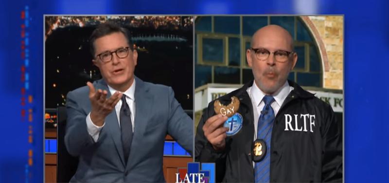Stephen Colbert, Rob Corddry