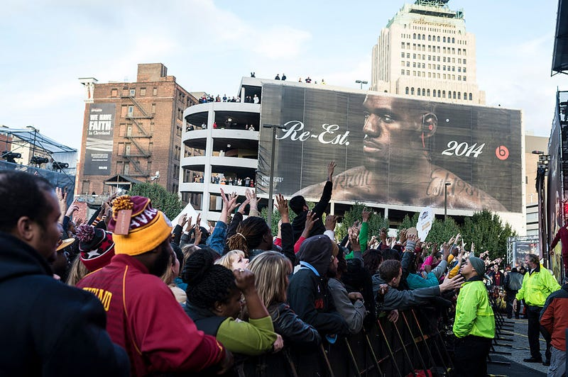 Cleveland Cavaliers and Turner Sports Home Opener Fan Fest (Angelo Merendino/Getty Images)