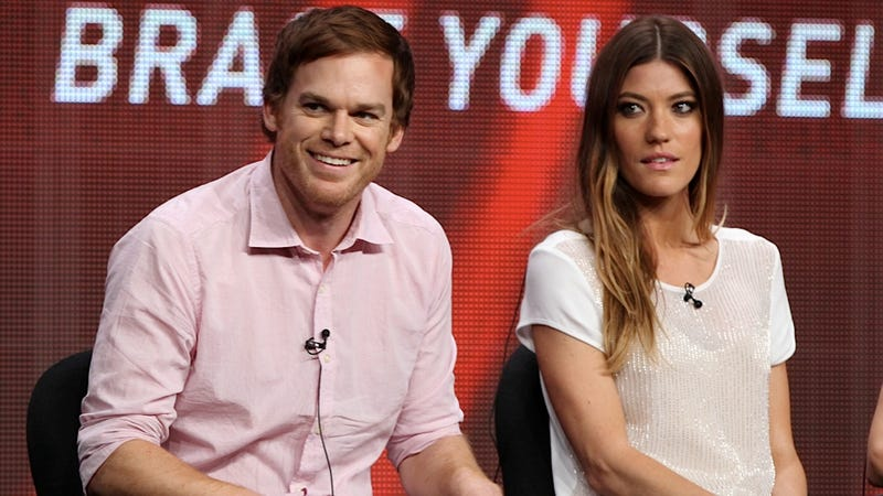Illustration for article titled Jennifer Carpenter Wishes that Michael C. Hall Would Dial Back His Enthusiasm